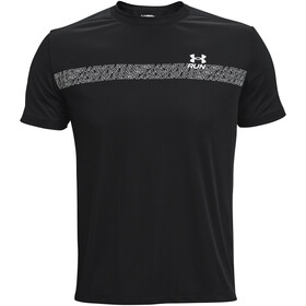 Under Armour Speed Stride Graphic Short Sleeve Shirt Men black-white
